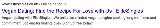 improve user experience vegan business