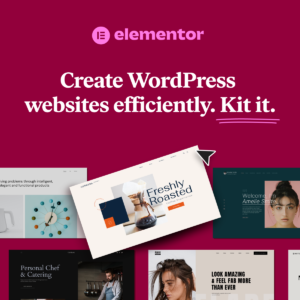 create websites quickly using elementor kits